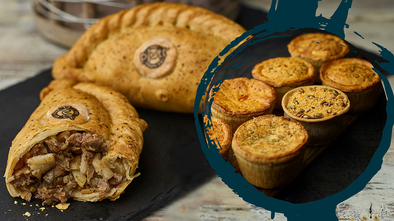 cornish pasties by post and online pies from phat at home