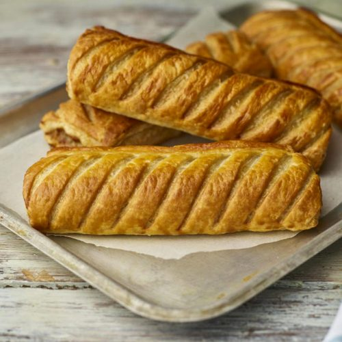 order pasties online and add a sausage roll