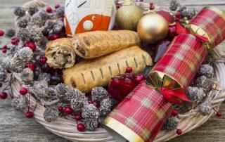 Phat Pasty christmas sausage roll