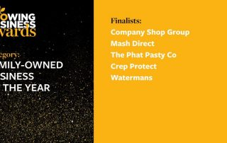 Growing Business Awards. Family Business 2020 Finalists