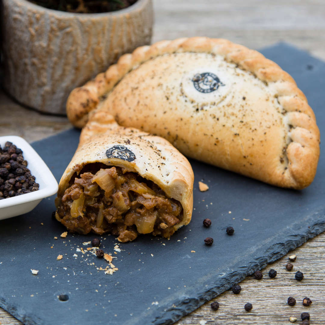 Peppered Steak-Less Pasty (Vgn)